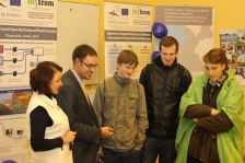 "INFROM: ""Flood room"" was presented during Researchers' Nights 2013"