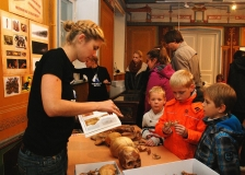 AAC Project: The Mummies' Secrets on The Researchers Night in Tartu, Estonia