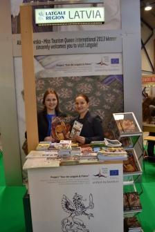 TOUR: литовские посетители выставки проявили большой интерес к 19 местам отдыха у озер Латгале