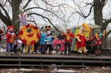 CULTURE ARTS: Projekts noslēdzas ar Masku tradīciju festivālu Salacgrīvā, Latvijā