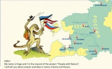 PEOPLE WITH NATURE: 2nd Newsletter is out - all about Project partners and activities in Estonia, Latvia and Russia