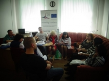 HELPING TO LIVE: Medical specialists from Estonia exchanged experiences with Russian colleagues on HIV prevention and medical care