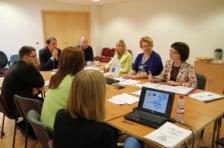 Аудиторы эстонских и латвийских партнеров проводят консультации с персоналом СТС