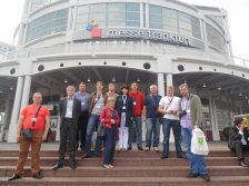 T&L: Academic staff of Project partners took part in Study Visit to Frankfurt Automotive Industry Fair AUTOMECHANIKA 2014