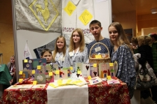 HERITAGE BUSINESS: Young entrepreneurs from Estonia, Latvia and Russia presented their products and competed in Värska, Estonia