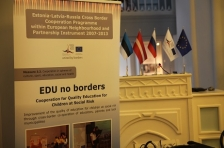 EDU NO BORDERS: Final conference of cross-border project brought to Tartu partners from Estonia, Latvia and Russia