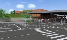 Narva-1 piiripunkti uus jalakäijate terminal pidas sarikapidu