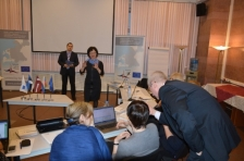 Final reporting discussed and consulted at the briefings in Pskov and St.Petersburg