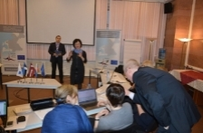 В Пскове и Санкт-Петербурге в рамках брифинга прошли обсуждения и консультации по финальной отчетности