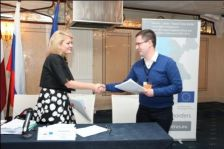 Three Grant Contracts with Projects accepted within the 1st Call of Proposals signed