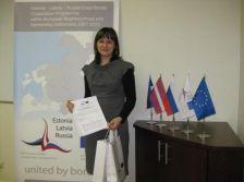 Еще один Грант контракт на сумму 260496 евро Программного co-финансирования был подписан между СУО Программы и  Латвийской Ассоциацией Кемпингов