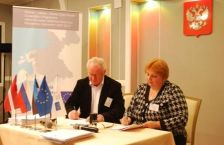 """Grant contract for 1688 913, 00  euro of the Programme co-financing countersigned by the JMA of the Programme and Latvian office of Euroregion """"Country of lakes"""" (Latvia)"""