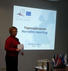 First Seminars on Reporting taking place in Latvia and Estonia