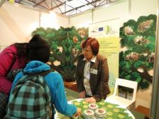 "Nature education in Estonia, Latvia and Russia promoted during the fair ""School 2013"" in Riga, Latvia"